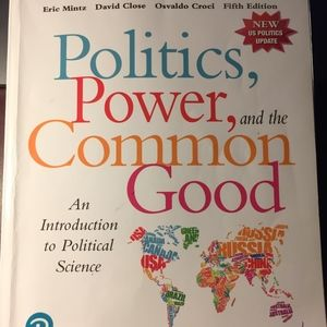 Politics Power and the Common Good Textbook
